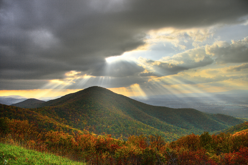View of Turk Mountain from Skyline Drive
