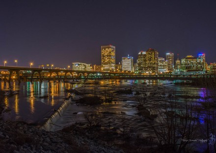 Downtown Richmond at Night
