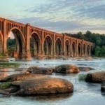 Best In Show Winner: Railroad Bridge at Sunset (James River in Richmond, Virginia) by Bill Piper