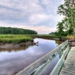 Taskinas Creek by Bill Dickinson (Location: York River State Park) Honorable Mention