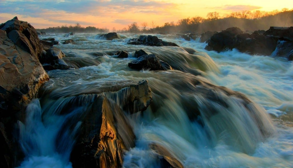 Great Falls Sunrise by Theresa Rasmussen (Location: Great Falls in Fairfax County) Best in Show Winner