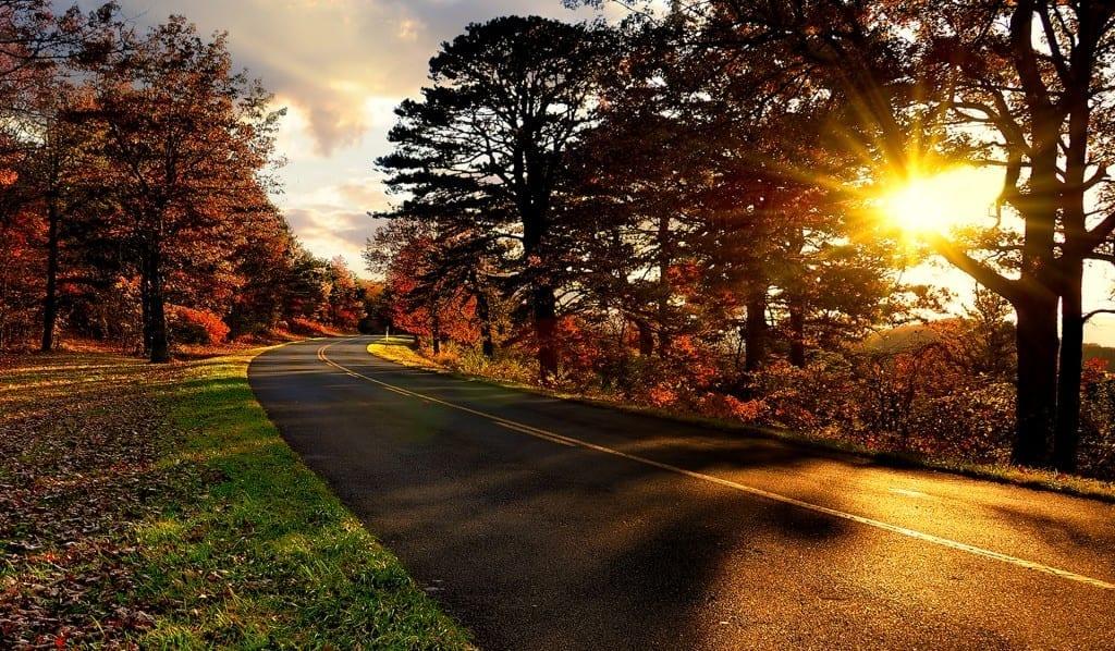 Autumn on the Blue Ridge Parkways by Bill Corbin (Location: Nelson County) Highways & Byways Winner
