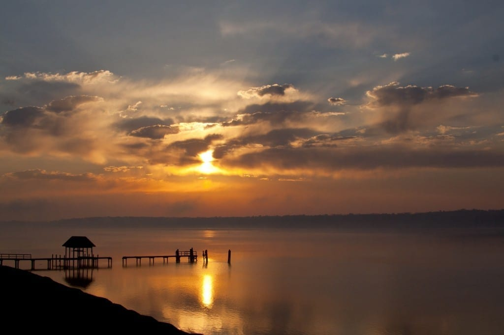 Foggy Sunrise on the James by Barbara Houston (Location: Charles City County) Route 5 Corridor Winner