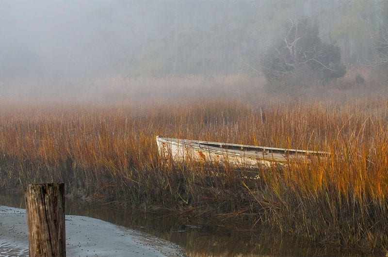 Foggy Morning by Barbara Houston (Location: Cape Charles) Coastal & Chesapeake Bay Winner