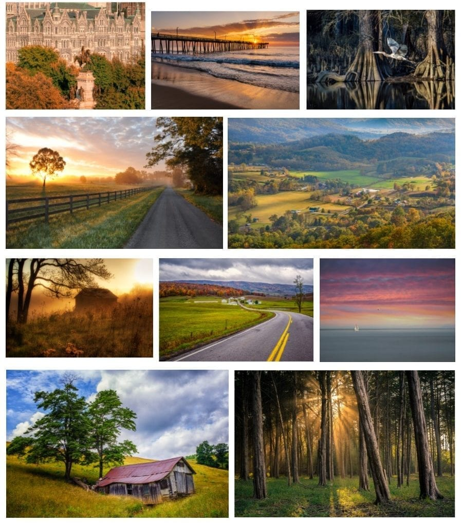 Beautiful Virginia Vistas Note Cards Available for Purchase!