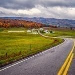 Route 250, Highland County by Robert Coles