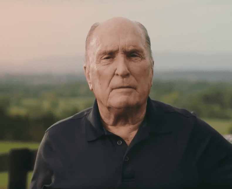 Robert Duvall Extols the Benefits of Preserving Virginia's Beautiful Piedmont