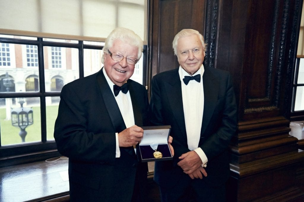 Sir David Attenborough Honored as First British Recipient of The Richmonds Medal