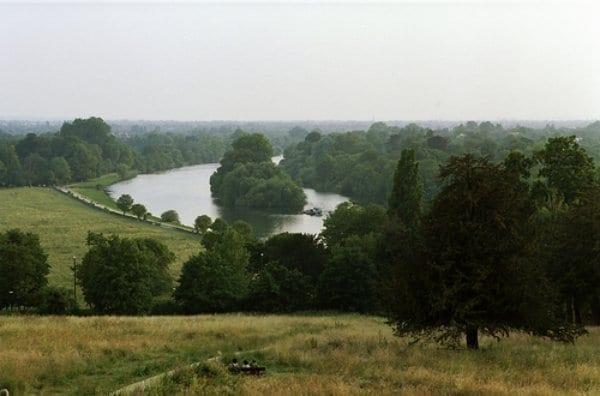 The View from Richmond Hill in London