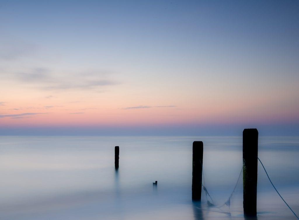 Sandbridge / Back Bay Border at Sunrise by Paul Showalter