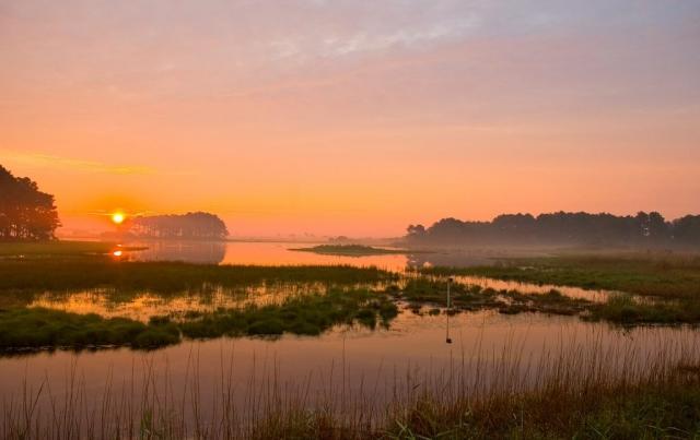 Sunrise on Assateague by Robert Rhoades