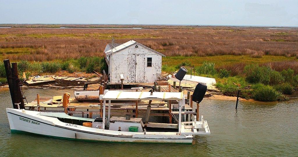 Coastal & Chesapeake Bay Winner: Workboat on the Marsh by Bill Piper (Tangier Island)