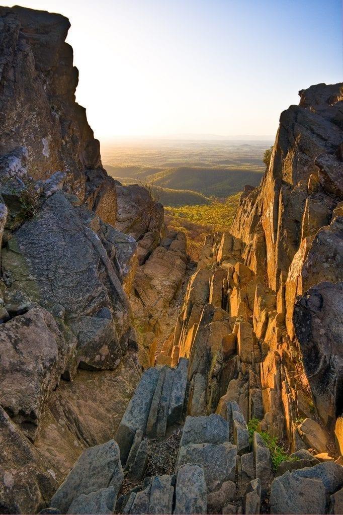 Humpback Rocks Sunset II by Jesus Perez