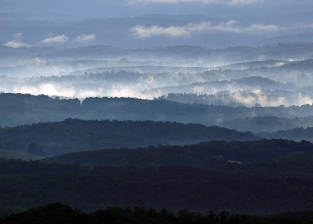 Mountains & Valleys Winner: Saddle Overlook by Tom Saunders