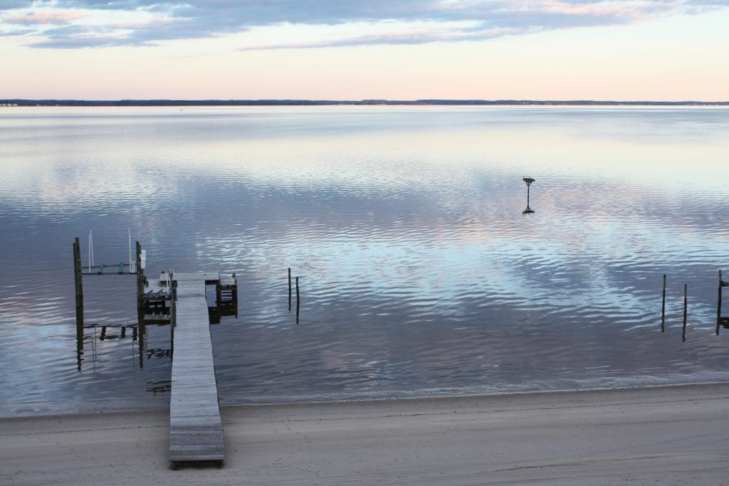 Rivers & Waterways Winner: Rappahannock River in Late February by Suzanne Miksch