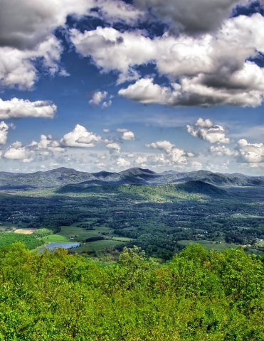 Mountains & Valleys Winner: Blue Ridge Parkway, Just South of Rockfish Gap by Bill Dickinson