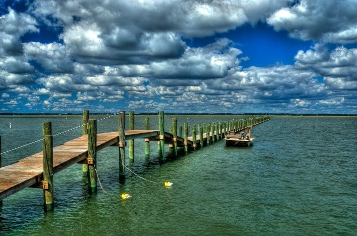 Coastal & Chesapeake Bay Winner: South Main Pier by Ron Hugo (Chincoteague Island)