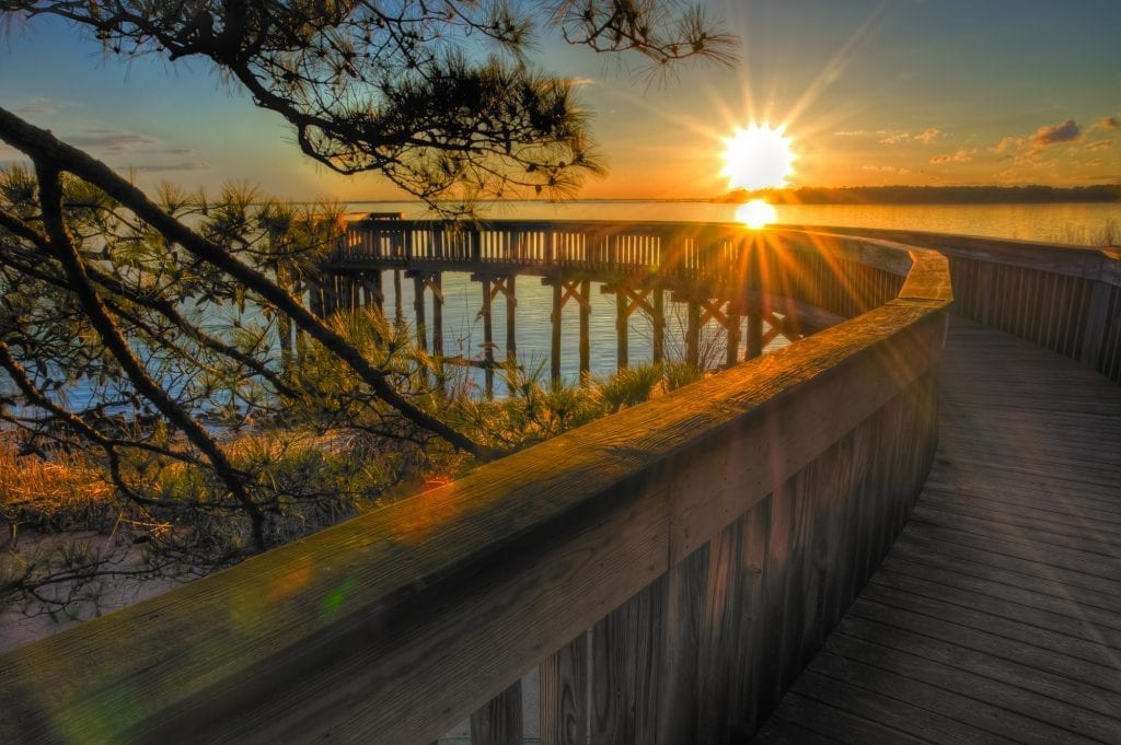 Sunset on the James by Harry Meares, Jr. (James River Overlook)