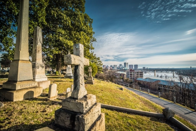 RVA From Hollywood by Scott Adams (Hollywood Cemetery in Richmond)