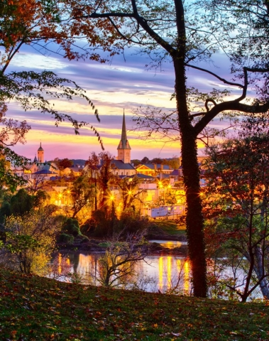 Twilight in Fredericksburg by Mary Lynne Wolfe (Chatham)