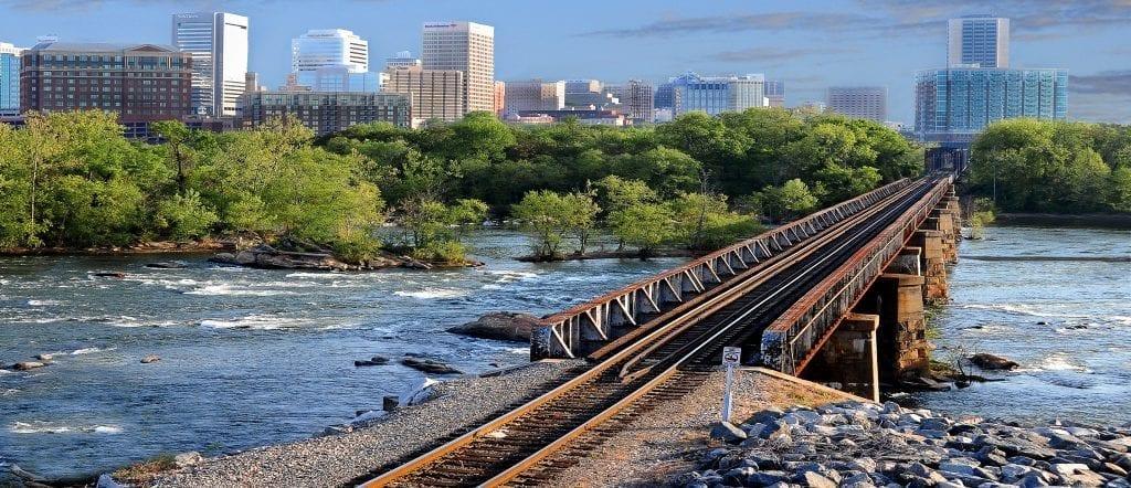 Tracks To The City by Bill Corbin (Richmond)
