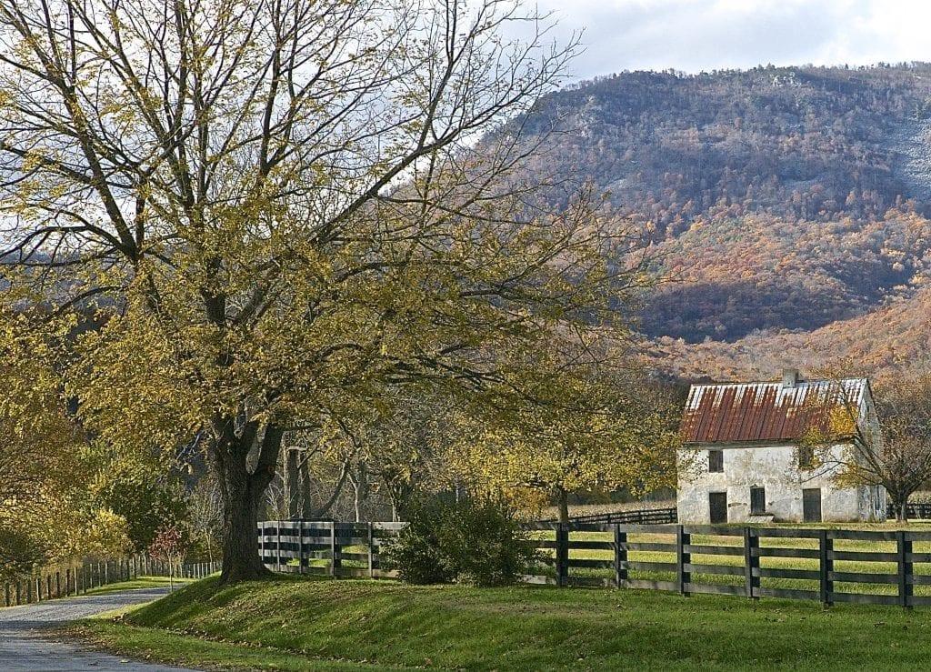 Farm Lane in Luray Virginia by Bill Knarr (Luray)