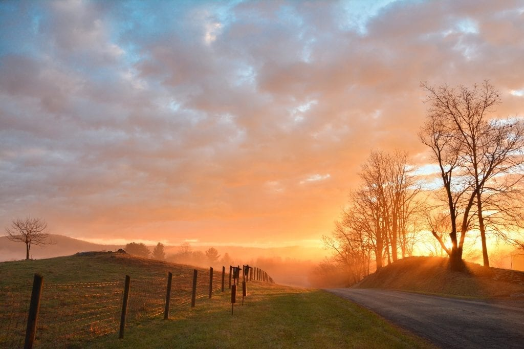 Piedmont Sunrise by Pamela Brumbley (Delaplane)