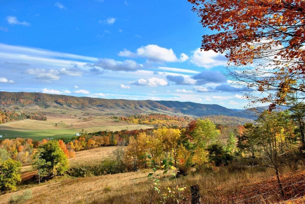 Autumn Colors in the Valley by Doug Puffenbarger (Hightown)