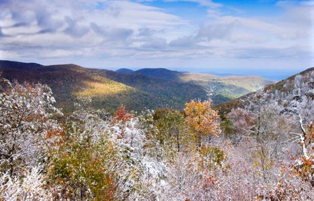 Shenandoah Vista by Edward Fuhr (Shenandoah National Park)