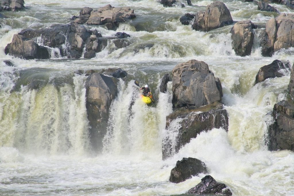 Over The Edge by Terry Crider (Great Falls)
