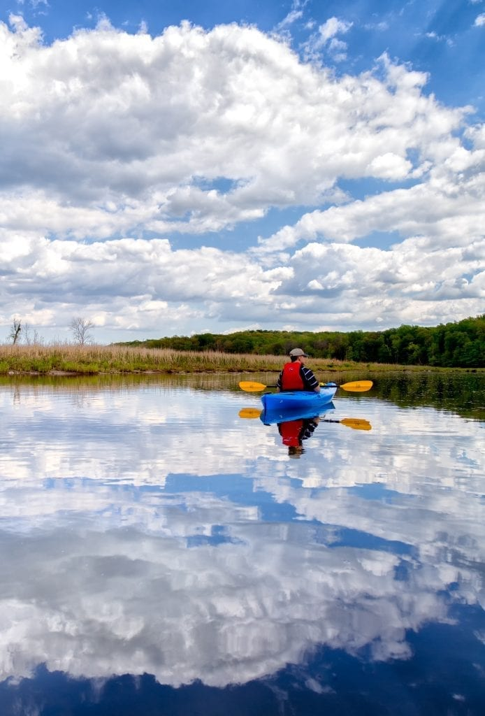 Paddling on Clouds by Denise McLaurin (Fairfax County)