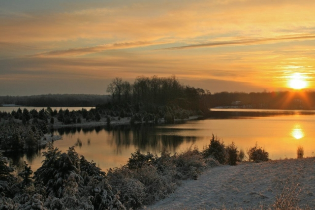 Morning Glory by Terry Crider (Hunting Creek Resevoir)
