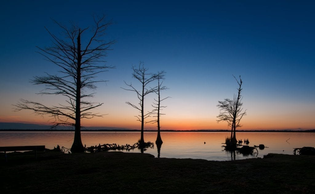 Sunset at Munden Point Park by Yuzhu Zheng (Virginia Beach)