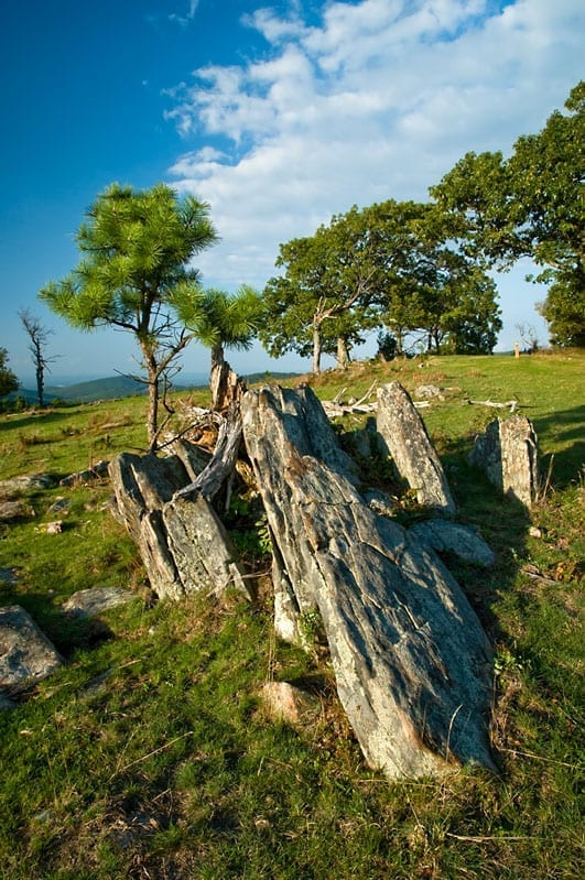Outcropping Rock Knob by Kirk Carter