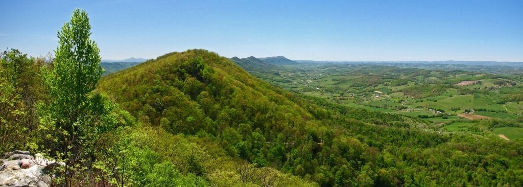 View From Fire Tower on Clinch Mountain by Greg Booher