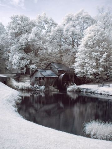 Mabry Mill by Brian Vass