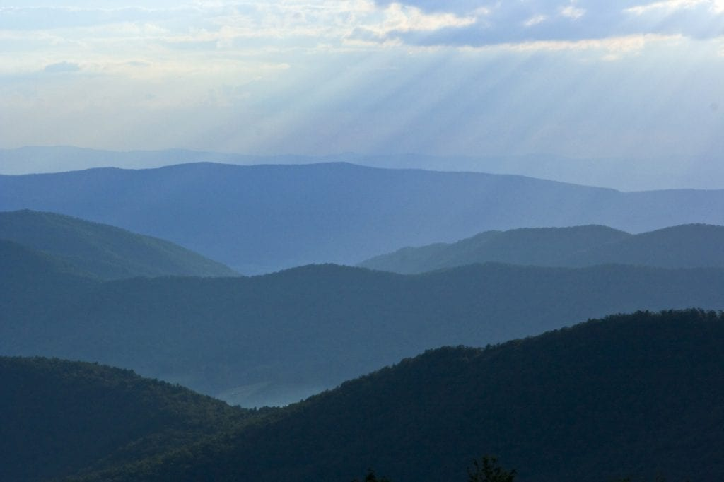 The Blue Ridge by Gina Venn