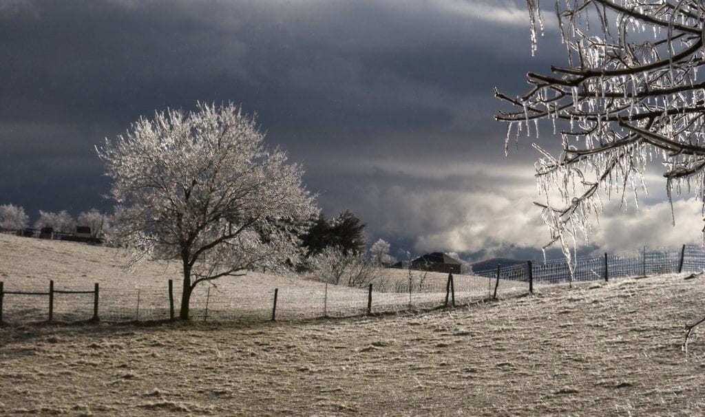 Ice Storm Ending by Aileen Fletcher