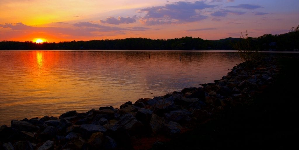 Claytor Sunrise by Kimber Simmons (Claytor Lake State Park in Pulaski County)