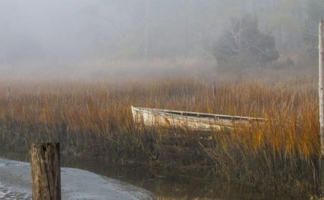 CoastCoastal & Chesapeake Bay Winner: Foggy Morning by Barbara Houston (Cape Charles)
