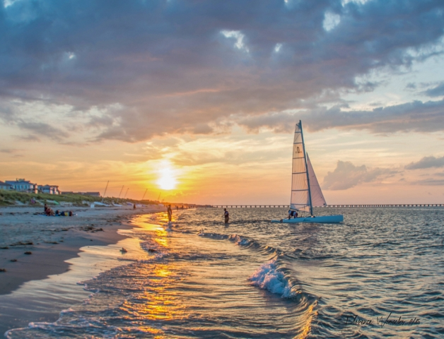 Coastal & Chesapeake Bay Winner: Fun on the Bay by Florence Womacks (Virginia Beach)