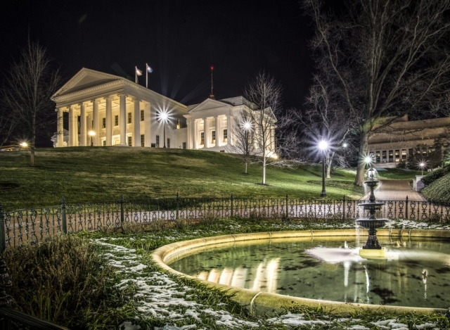 Cities & Towns Winner: Virginia State Capitol by Liz Clayton (Capitol Square in Richmond)