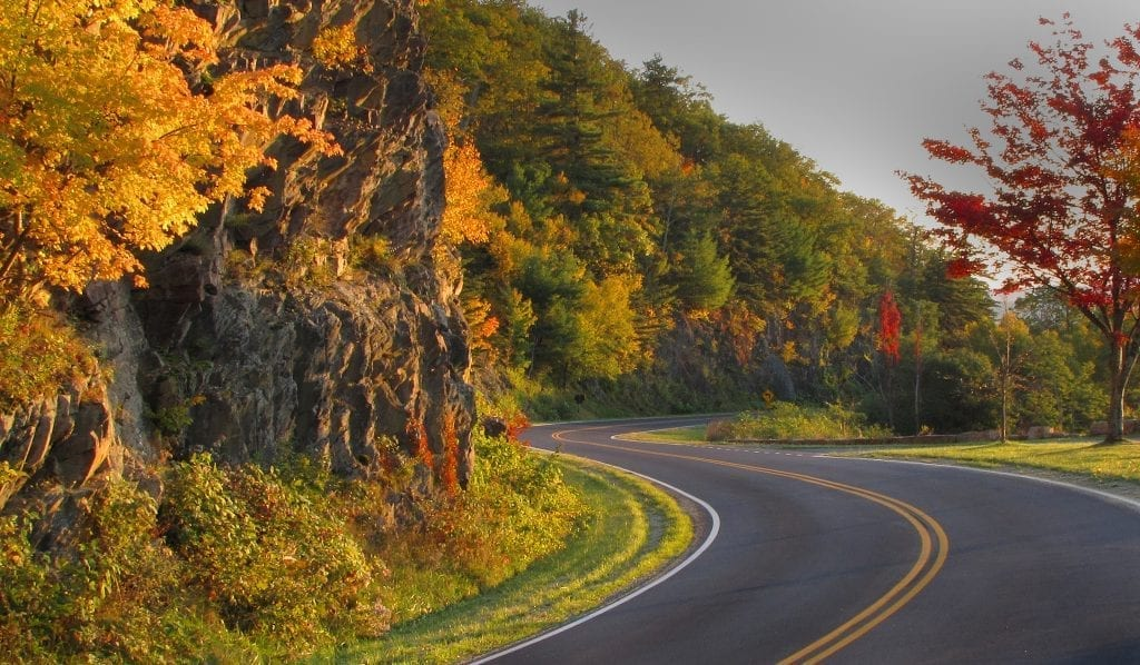 Highways & Byways Winner: Autumn on Skyline Drive by Carl Kriigel (Skyline Drive near Waynesboro)