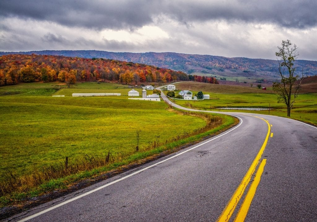 Highways & Byways Winner: Route 250, Highland County by Robert Coles (Highland County)