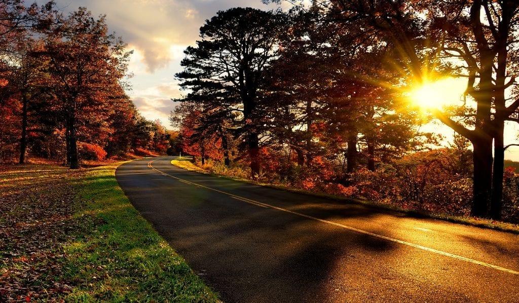 Highways & Byways Winner: Autumn on the Blue Ridge Parkway by Bill Corbin (Nelson County)