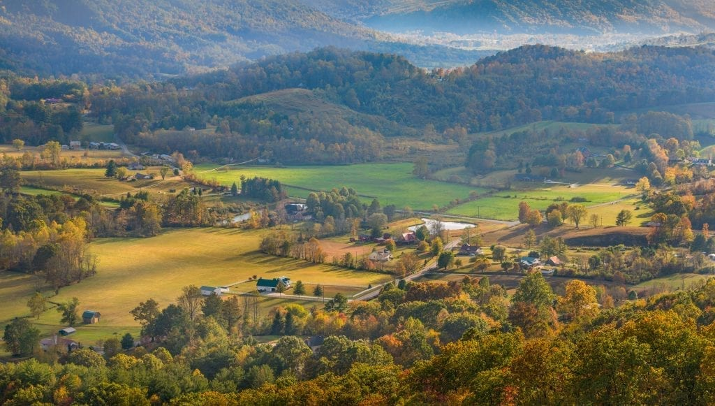 Mountains & Valleys Winner: Powell Valley by Liz Clayton (Norton)