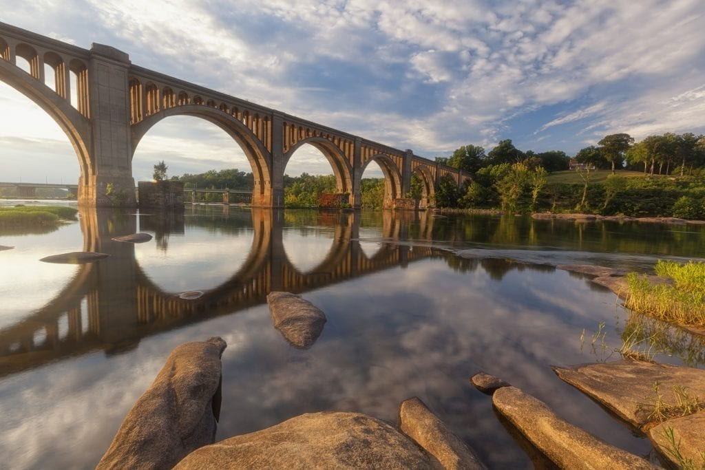 Rivers & Waterways Winner: James River Railroad Bridge by David Nguyen (Richmond)