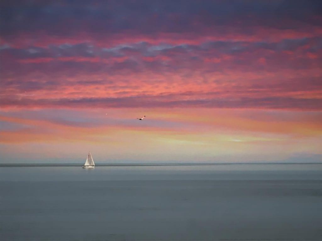Rivers & Waterways Winner: Sunset on the York River by Chris Beasley (Yorktown)