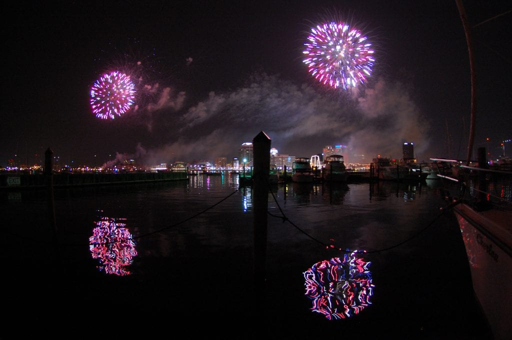 "Cities & Towns Winner: ""Fourth of July, Norfolk"" (Norfolk) by Bradley Trotter of Fairfax"