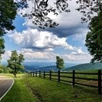 """Mountains & Valleys Category Honorable Mention: """"Going for a Picnic"""" (Mouth of Wilson in Grayson Highlands State Park) by Susan Mize of Damascus"""